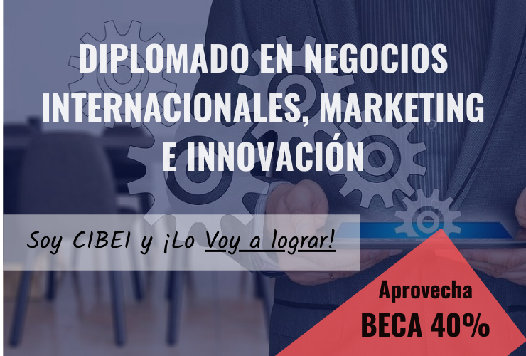 Diplomado en Negocios Internacionales, Marketing e Innovación