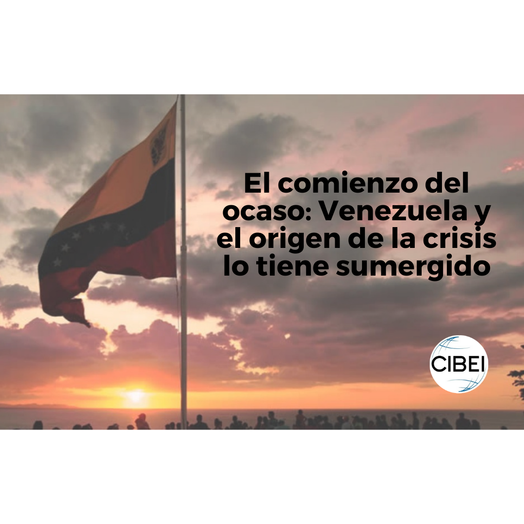 El comienzo del ocaso: Venezuela y el origen de la crisis lo tiene sumergido