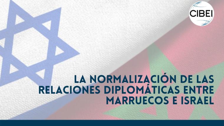 La normalización de las relaciones diplomáticas entre Marruecos e Israel.