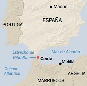 Créditos: The New York Times  Fuente: https://www.nytimes.com/es/2018/08/21/espanol/migrantes-ceuta-espana-marruecos.html